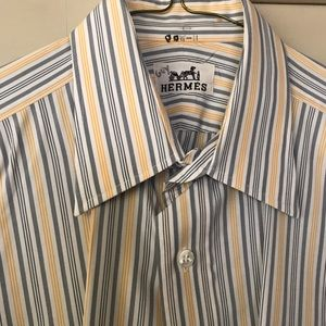 Hermes Dress Shirt 15 1/2
